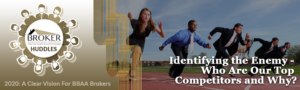 Identifying the Enemy - Who Are Our Top Competitors and Why? @ ZOOM